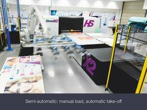 ONSET X2HS het ultieme flatbed productie platform